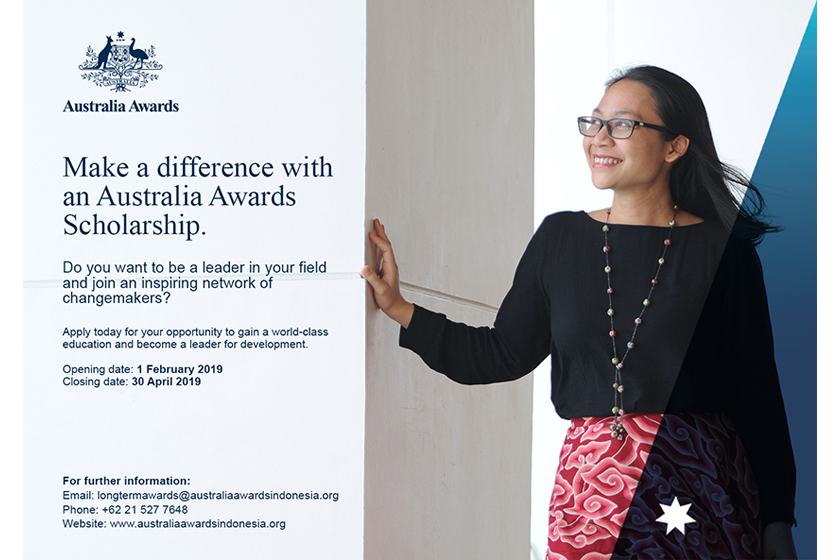 Applications Open for the Australia Awards Postgraduate Scholarships