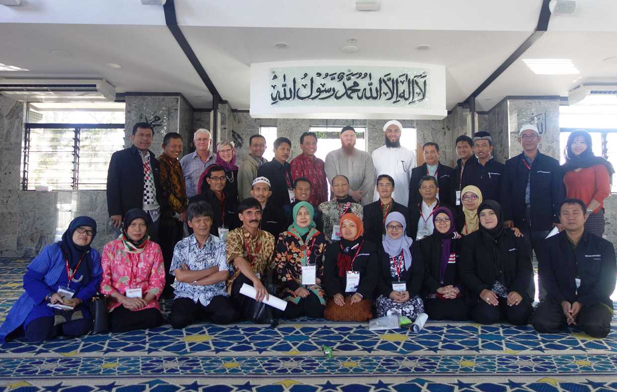 Participants of Islam Education to Promote Multiculturalism short course