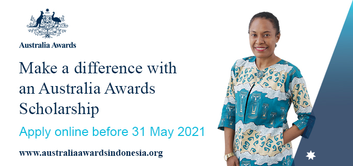 Make a difference with an Australia Awards Scholarship