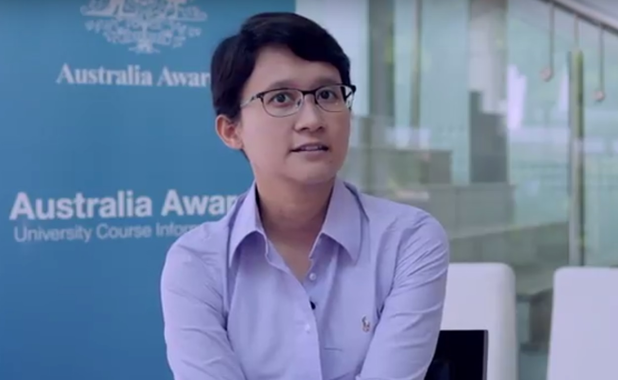 Tiara Marthias on the Australia Awards Scholarships entitlements