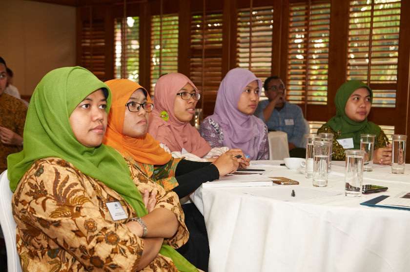 Participants at the Quantitative Data Analysis Course
