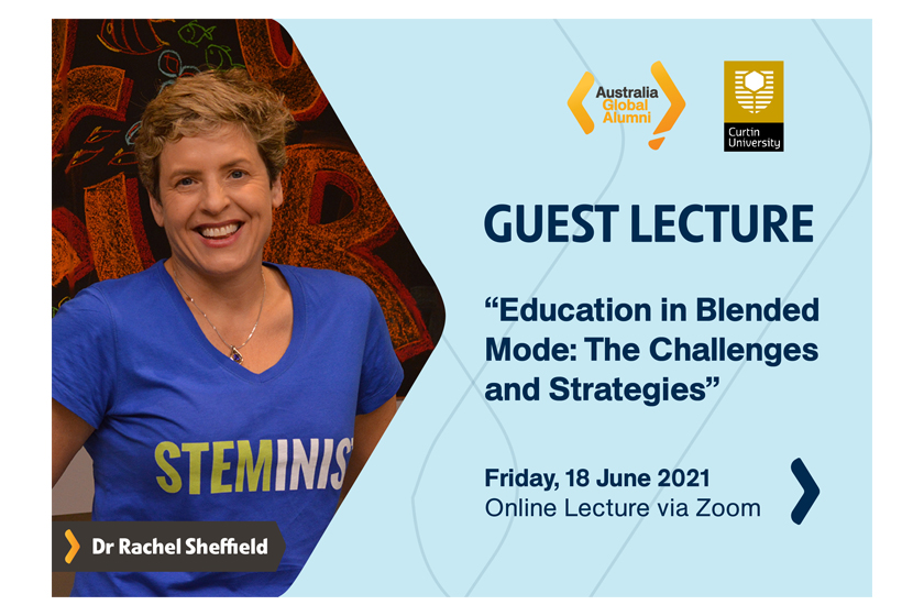 Join us in the Guest Lecture on Education in Blended Mode: The Challenges and Strategies