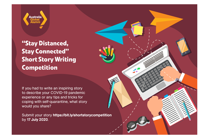 """Stay Distanced, Stay Connected"" Short Story Writing Competition"