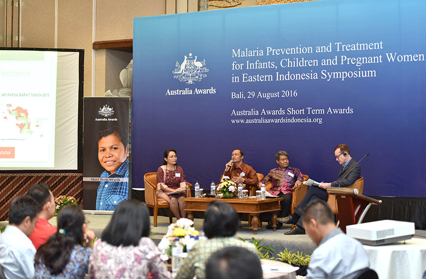 "Malaria Prevention and Treatment for Infants, Children and Pregnant Women in Eastern Indonesia"" Symposium and Post Award Workshop"