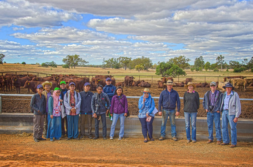 Participants of the Meat Production, Processing and Supply Chain Management Course in Australia