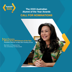 Call for Nominations: The 2020 Australian Alumni of the Year Awards