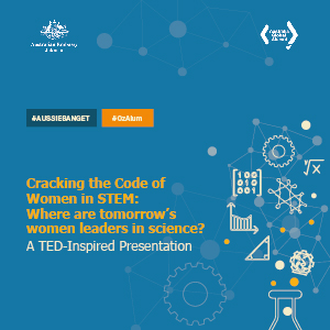 "TED-Inspired Presentation: ""Cracking the Code of Women in STEM: Where are tomorrow's women leaders in science?"""