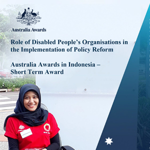 "Applications Open for ""the Role of Disabled People's Organisations in the Implementation of Policy Reform"" Short Term Award"
