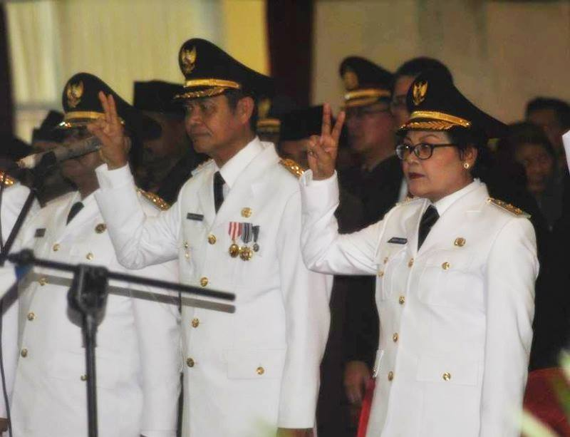 A group of people wearing officials uniform
