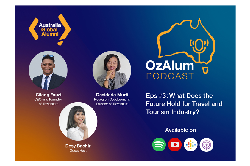 OzAlum Podcast Episode 3: What Does the Future Hold for Travel and Tourism Industry?