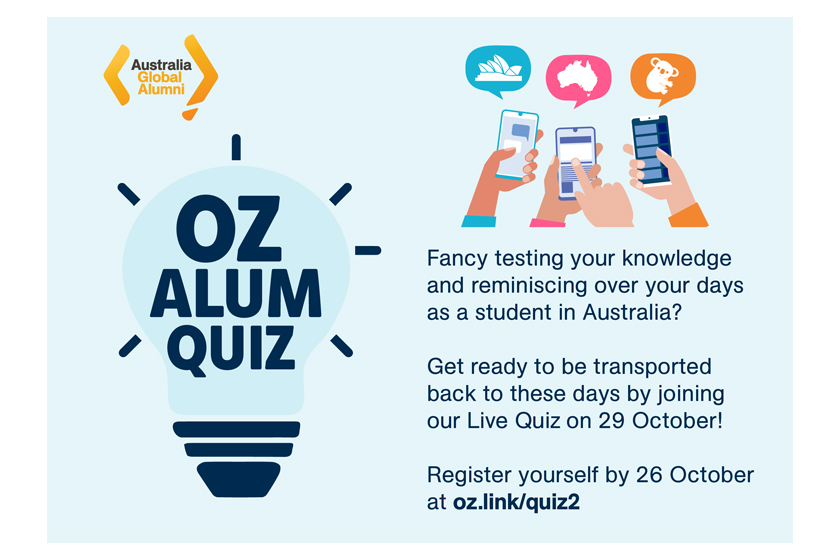 """Join """"OzAlum Quiz Part 2: Individual Challenge"""" and Win Awesome Prizes!"""